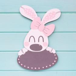 Placa de Bunny Rosa
