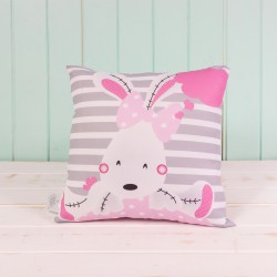 Cojín Bunny Rosa
